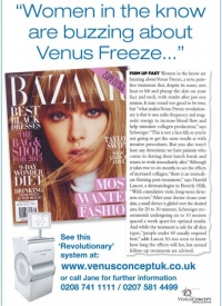 Buzzing About Venus Freeze